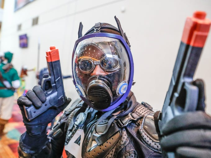 Gen Con attendees strut their stuff in costume at the