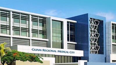 An artist's rendition of the Guam Regional Medical City.