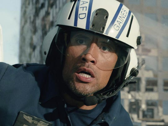 Dwayne Johnson's 2015 action movie 'San Andreas' was