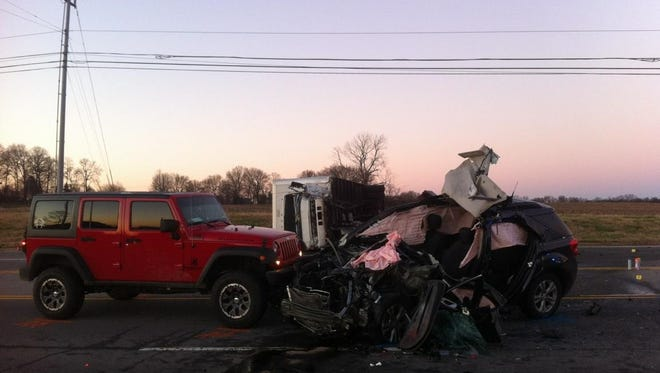The late afternoon Dec. 4, 2015 crash on Tiny Town Road near Allen Road has resulted in a fatality.