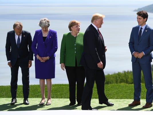 EPA CANADA G7 SUMMIT POL DIPLOMACY CAN