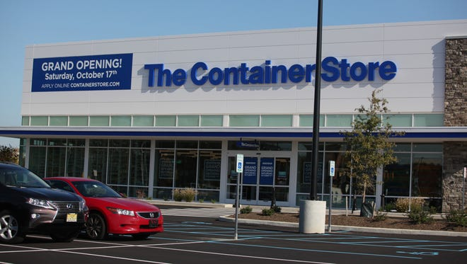 The Container Store at the Christiana Fashion Center. The retailer is collecting toys for sick children.