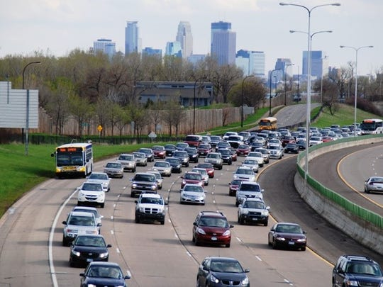 DART could look to add a designated bus/carpool lane