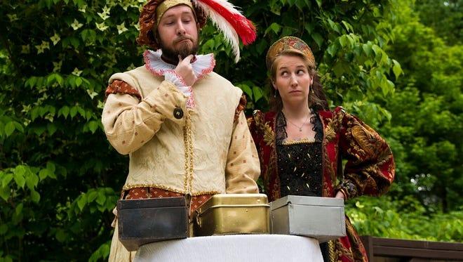 Montford Park Players offer Shakespearean drama all summer.