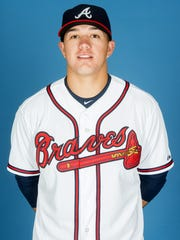 Dylan Manwaring played for the Gulf Coast Braves this season.
