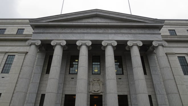 The New York State Court of Appeals building in Albany, NY