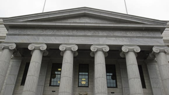 The New York Court of Appeals in Albany is the state's