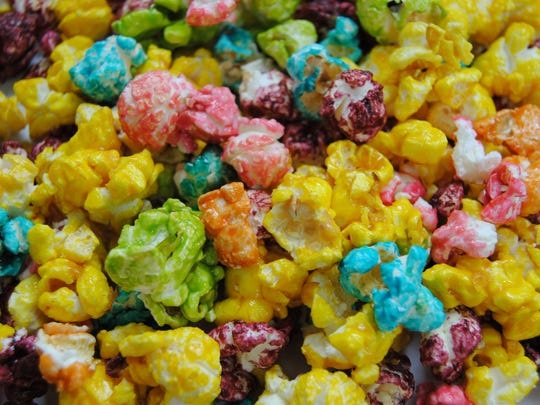 Rainbow Popcorn from KarmelKorn