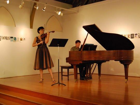 Katie at Corvallis Arts Center 2008