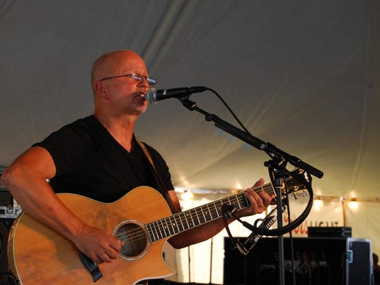 Local favorite Jimmy DeHeno plays Friday at the Marine City Music Festival BEach Party