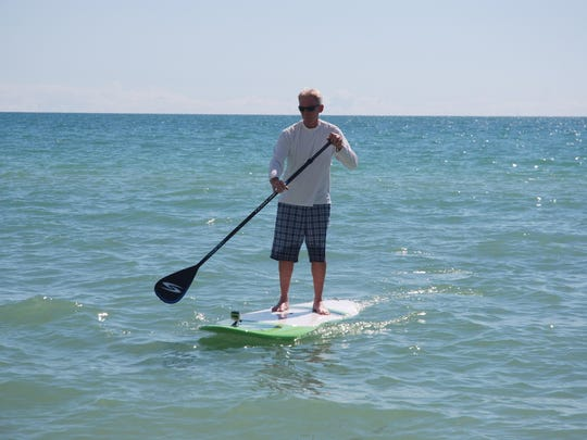 Learn how to paddleboard Thursday at Delnor-Wiggins State Park.