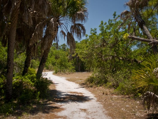 Cayo Costa Island State Park offers nature trails that go across the island and are perfect for hiking and off-road bicycling.