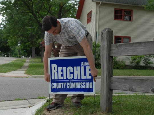 When Allen Reichle was running for the St. Clair County Board of Commissioners in 2014, he told the Times Herald he was studying political science at Lansing Community College. He and the college now say he never attended the school.