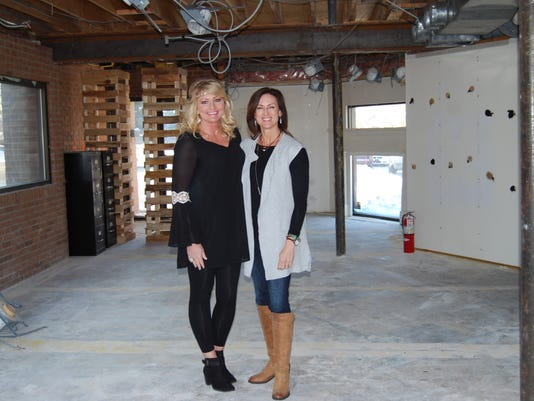 Kelly Brake and Tara Furlough Stand In The Space That Will Become She's All .jpg