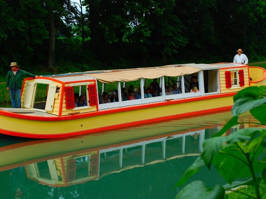 Canal boat rides, $7 for adults and $4 for children, are available starting Saturday.