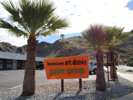 Check out the Backstreet Art District Art Walk from 5-8 p.m. at the Backstreet Art District in Palm Springs.