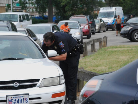 Wilmington police closed Eden Park following a July 2012 shooting and questioned people before allowing them to leave the park.