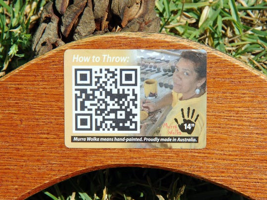 Scan the QR code in the image to learn more about this Australian cultural tradition.
