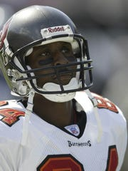 Reggie Barlow of the Tampa Bay Buccaneers during the
