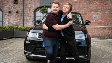 James Corden on Carpool Karaoke with Paul McCartney, new London visit for 'Late Late Show'