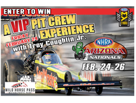 NHRA ARIZONA NATIONALS Pit Crew Experience Sweepstakes