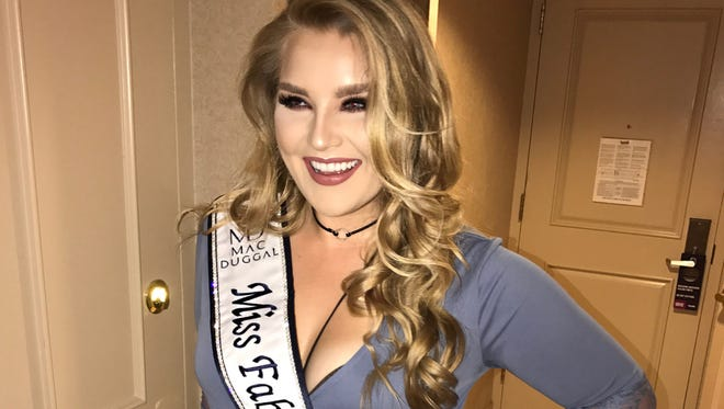 Brianna Fillweber was named the 2017 Mac Duggal Face of Fabulous.
