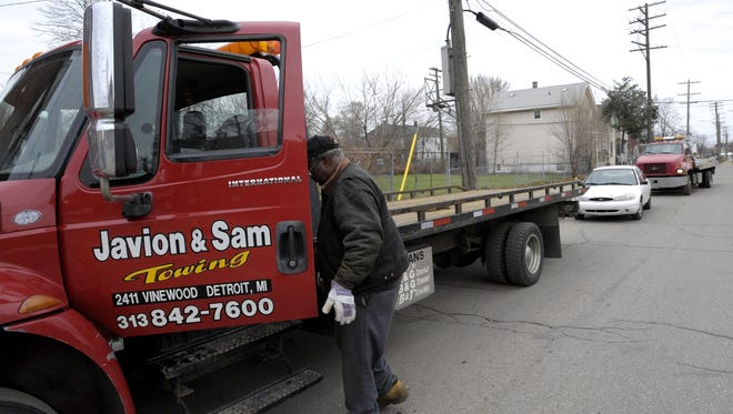 The Detroit Police Department plans to take over part of city towing operations.