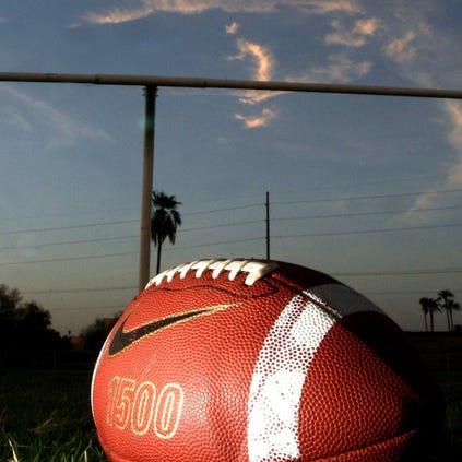 High school football.