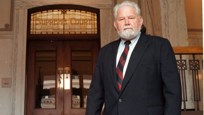 Edward N. Fadeley at the Oregon Supreme Court in 1997.
