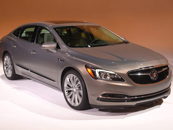 2017 Buick LaCrosse has a new face for Buick going