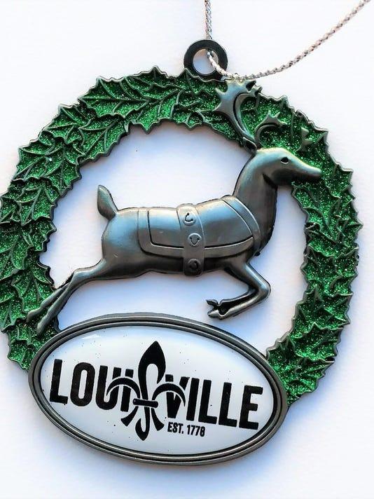 Visitors Center Ornament Reindeer Louisville