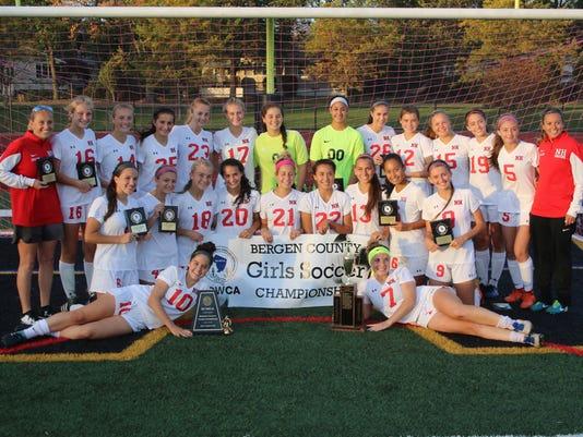 Northern Highlands girls soccer team