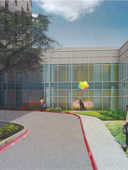 These renderings are part of Driscoll Children's Hospital's $80 million expansion.