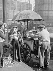 "Stanley Kubrick, from ""Shoeshine Boy"", 1947"