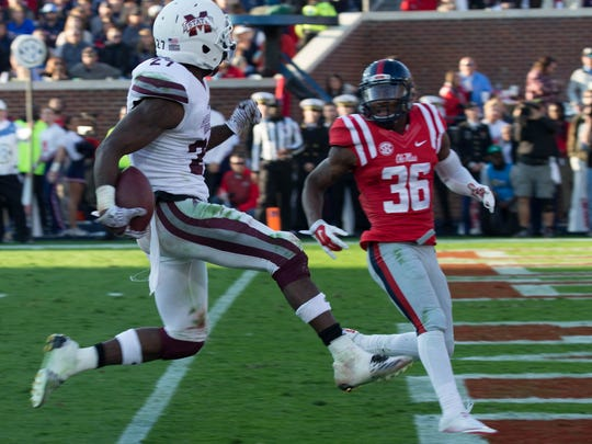 Mississippi State sophomore Aeris Williams strides