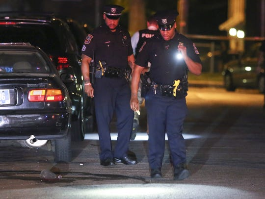 Wilmington police investigate a shooting on the 2400