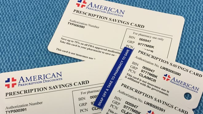 "Some ""free"" drug cards arrive in the mail but discount might be smaller than expected."