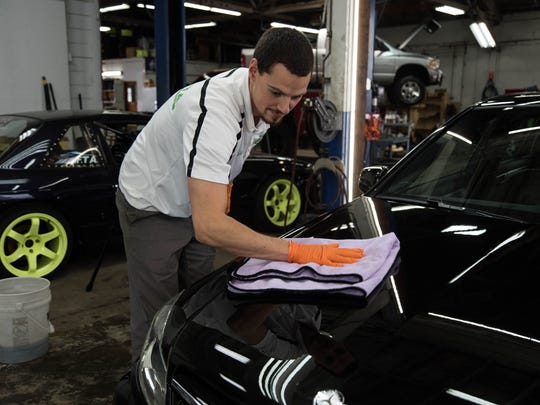 Ryan Hendricks, proprietor of Finishing Touch Auto in Stayton.