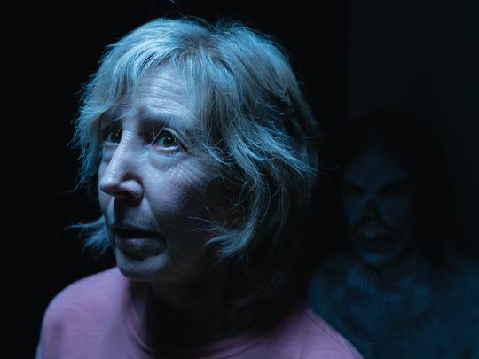 "In ""Insidious: The Last Key,"" Lin Shaye returns as parapsychologist Elise Rainier."