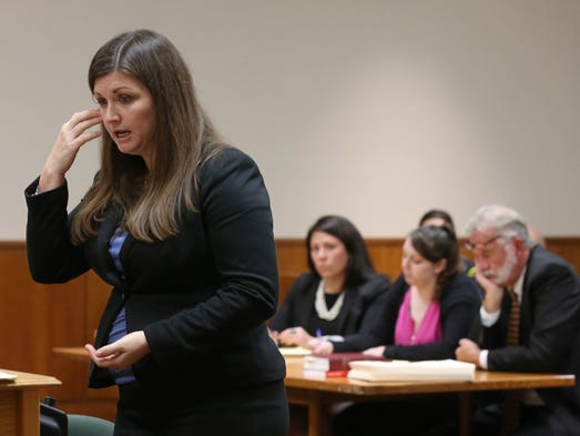 Monroe County Assistant District Attorney Sara VanStrydonck