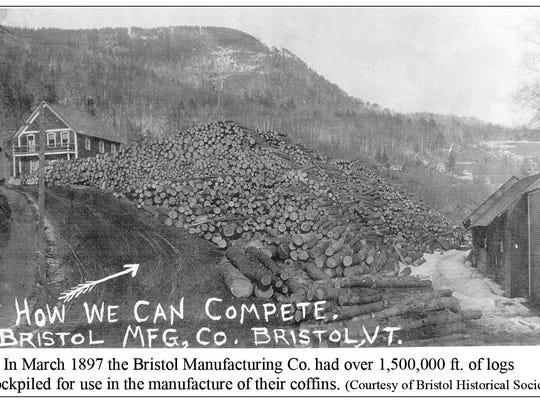 1897- BMC log pile