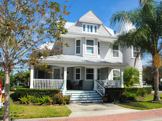 The Derby and Delannoy Home in Cocoa Village.