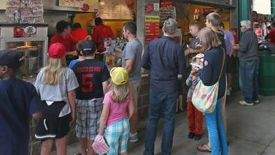 Five minor league baseball teams - including the Rochester Red Wings - have agreed to feature New York agricultural products at ballparks across the state.