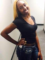Indiana State University freshman McKinsey Glover,