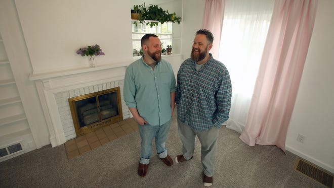 Ben Gannon and Joey Veltkamp, seeking lower housing prices, bought a house near downtown Bremerton to be both their home and their art gallery. It's called the cogean? Gallery.