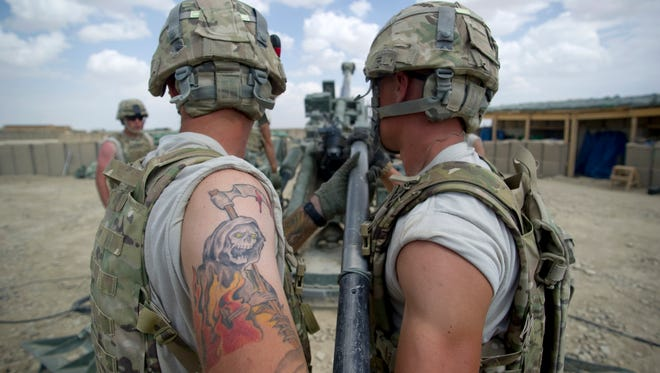 It's easier for tattooed soldiers to earn a commission under the Army's revised rules.