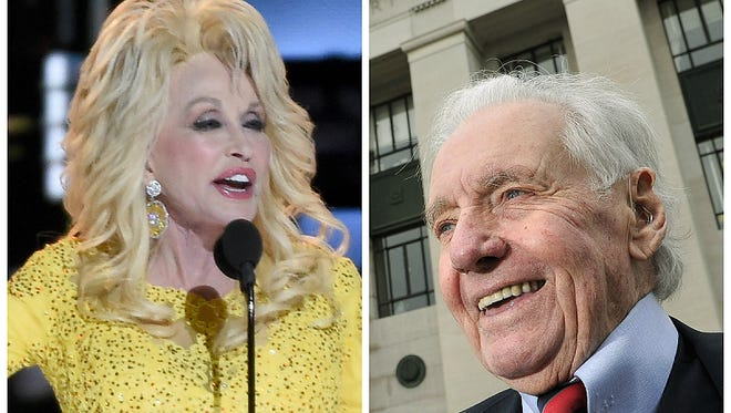 Dolly Parton was the 2006 Tennessean of the Year. John Jay Hooker was the 2015 Tennessean of the Year.
