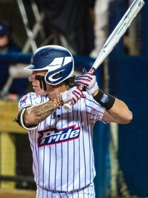 Kelly Kretschman won the league batting title last season in the National Pro Fastpitch circuit and leads the league again this season.