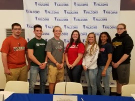 From left to right: Ross Fisher, Waynesburg University