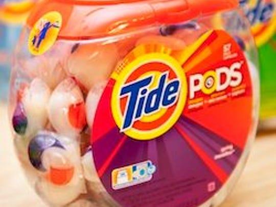 Tide Pods Original Scent Laundry Detergent Pac 72 ct